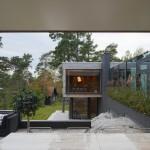 Villa Alba, inner inner garden and guest room/sauna