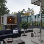 Villa Alba, inner garden