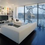Casa Barone, living room
