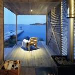 Island House, view from sauna