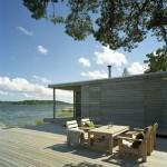 Island House, sauna