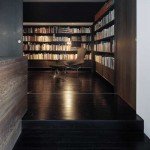 H-House, library / movie room