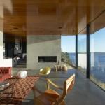 Rock House, living room