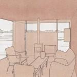 Wallpaper, living room