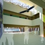 Visitors Center Vattenriket, interiör