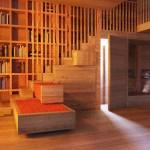 Villa Moelven, living room