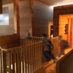 Villa Moelven, childrens room